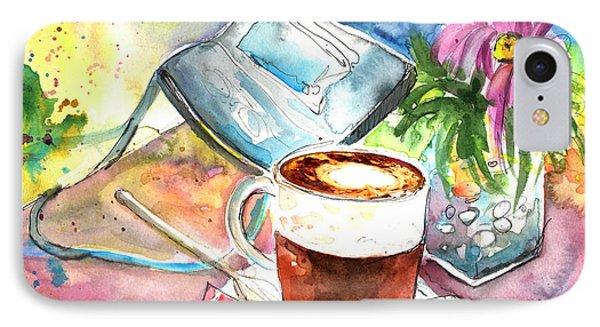 Latte Macchiato In Italy 01 Phone Case by Miki De Goodaboom