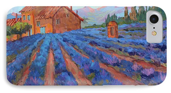 Lavender Field Provence IPhone Case by Diane McClary