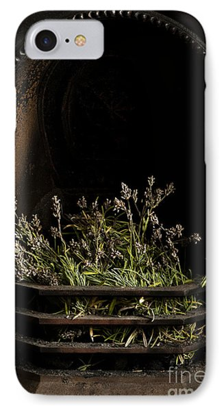 Lavender Fire Phone Case by Anne Gilbert