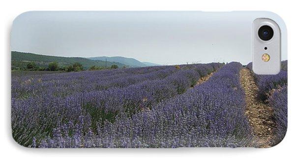 Lavender Sky Phone Case by Pema Hou
