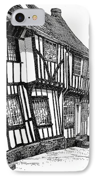 Lavenham Timber IPhone Case by Shirley Miller
