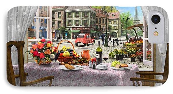 Le Cafe Paris Phone Case by Dominic Davison