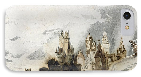 Le Gai Chateau IPhone Case by Victor Hugo