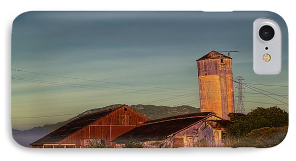 Leaning Silo  Phone Case by Bill Gallagher