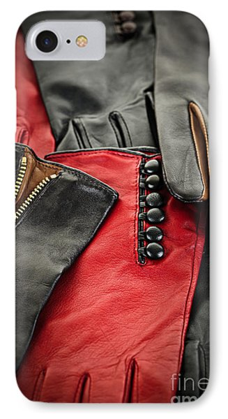 Leather Gloves Phone Case by Elena Elisseeva