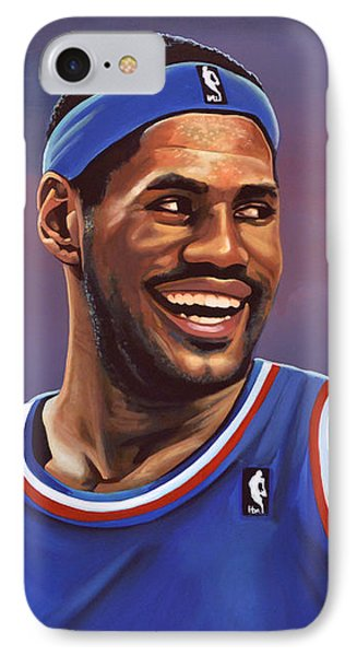 Lebron James  IPhone Case by Paul Meijering
