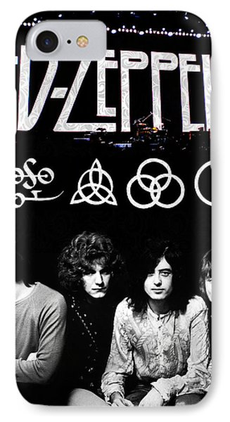 Led Zeppelin IPhone 7 Case by FHT Designs