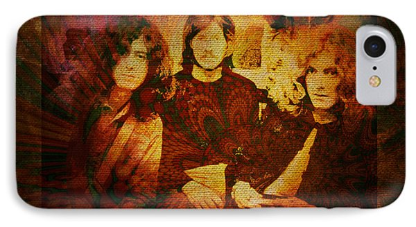 Led Zeppelin - Kashmir IPhone 7 Case by Absinthe Art By Michelle LeAnn Scott