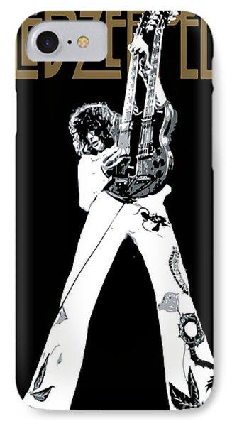 Led Zeppelin No.06 IPhone 7 Case by Caio Caldas