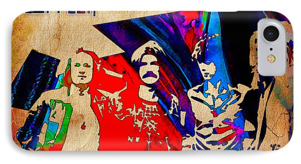 Led Zeppelin Painting IPhone Case by Marvin Blaine