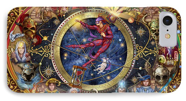 Legacy Of The Divine Tarot IPhone Case by Ciro Marchetti
