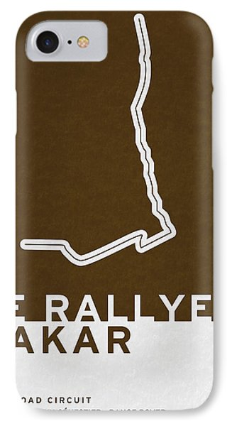 Legendary Races - 1978 Le Rallye Dakar IPhone Case by Chungkong Art