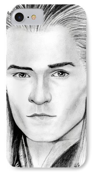 Legolas Greenleaf IPhone Case by Kayleigh Semeniuk
