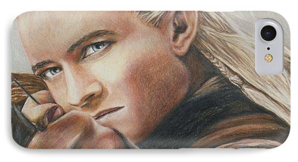 Legolas / Orlando Bloom IPhone Case by Christine Jepsen
