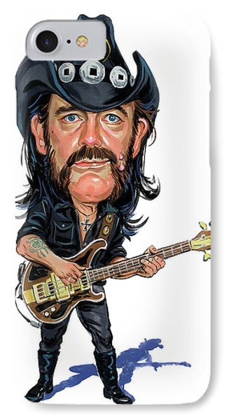 Lemmy Kilmister IPhone Case by Art