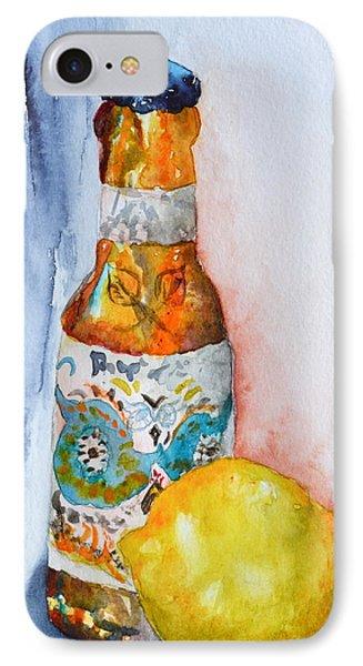Lemon And Pilsner Phone Case by Beverley Harper Tinsley