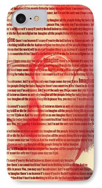 Lennon  IPhone Case by Mark Ashkenazi