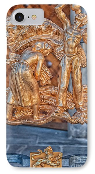 Leo Zodiac Sign - St Vitus Cathedral - Prague IPhone Case by Ian Monk