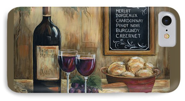 Les Vins IPhone Case by Marilyn Dunlap