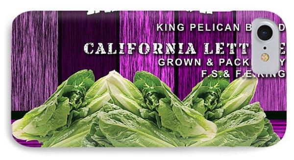 Lettuce Farm IPhone Case by Marvin Blaine
