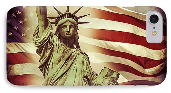 Liberty IPhone Case by Az Jackson