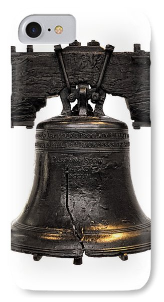 Liberty Bell IPhone Case by Olivier Le Queinec