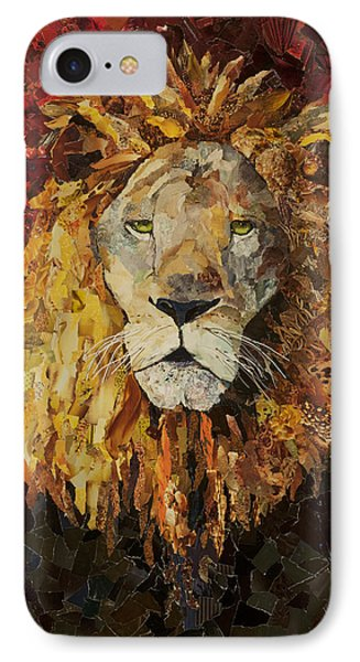 Liberty Lion IPhone Case by Claire Muller