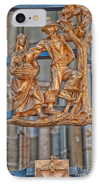 Libra Zodiac Sign - St Vitus Cathedral - Prague IPhone Case by Ian Monk