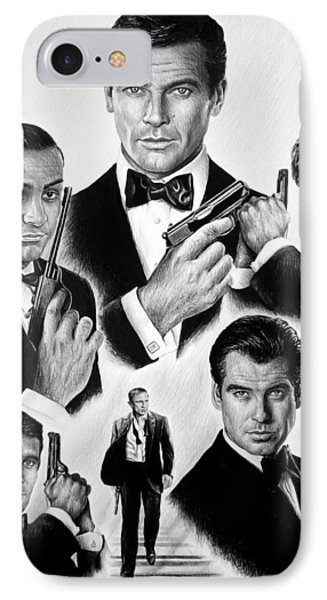 Licence To Kill  Bw Phone Case by Andrew Read