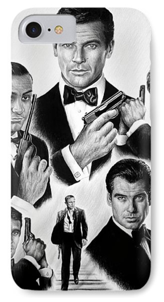 Licence To Kill  Bw IPhone Case by Andrew Read