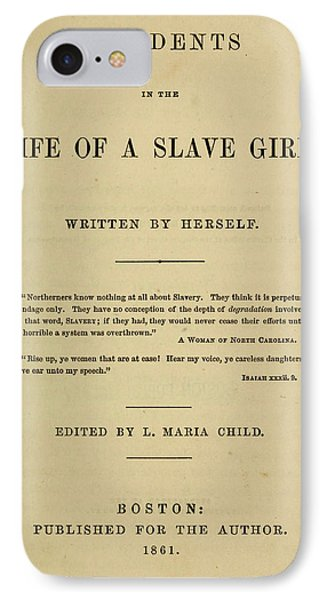 Life Of A Slave Girl, 1861 IPhone Case by Granger