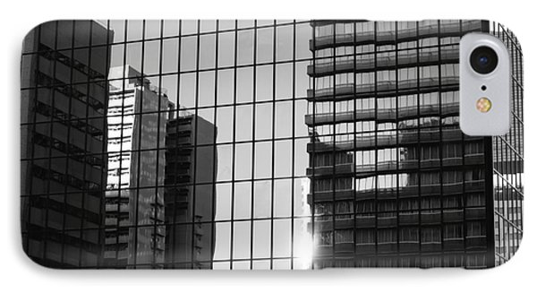 Light Fading In Downtown Tokyo IPhone Case by Dean Harte