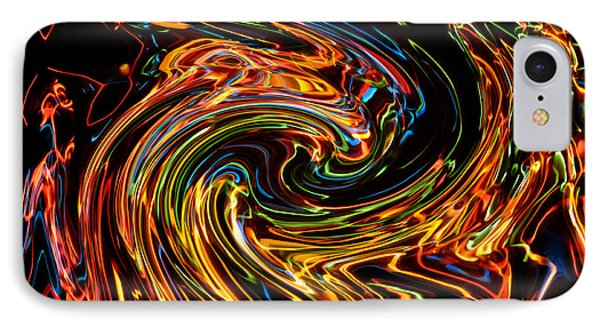 Light Painting 2 Phone Case by Delphimages Photo Creations