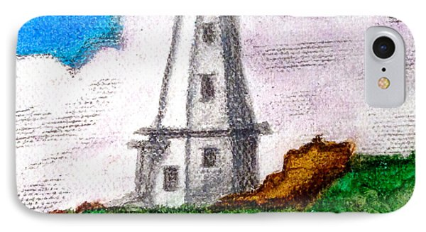 Lighthouse Nova Scotia Phone Case by Anita Lewis