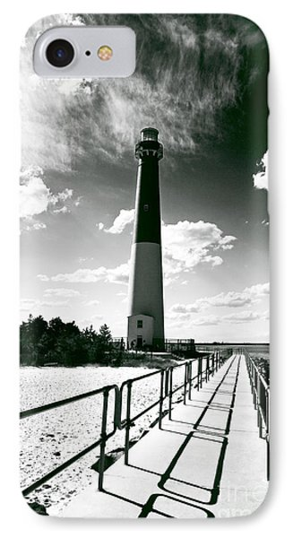 Lighthouse Walk IPhone Case by John Rizzuto