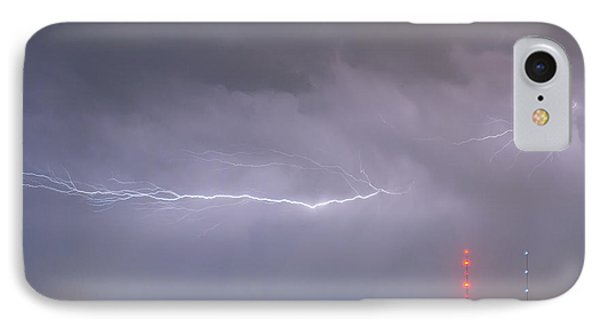 Lightning Bolting Across The Sky Phone Case by James BO  Insogna