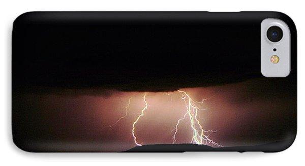 Lightning Dancing Phone Case by Jeff Swan