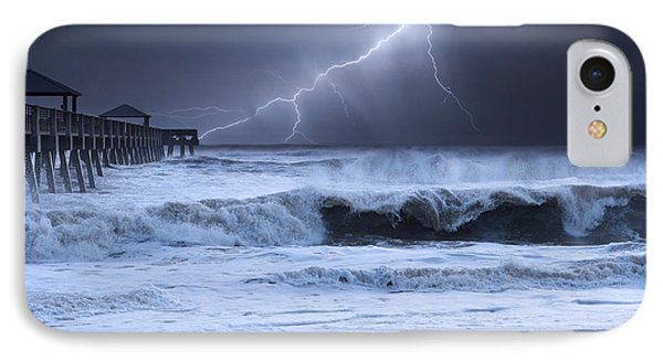 Lightning Strike IPhone Case by Laura Fasulo
