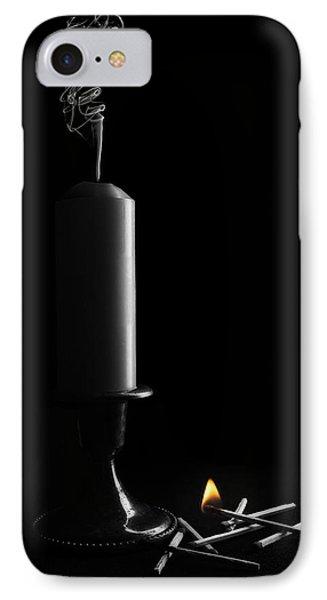 Lights Out Still Life IPhone Case by Tom Mc Nemar