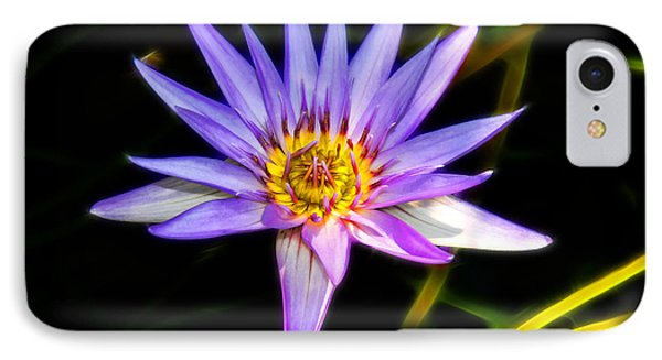 Lilac Lily Phone Case by Mariola Bitner