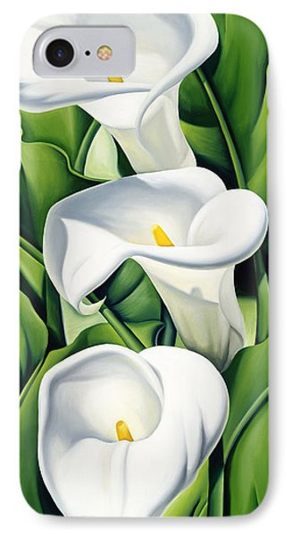 Lilies IPhone Case by Catherine Abel