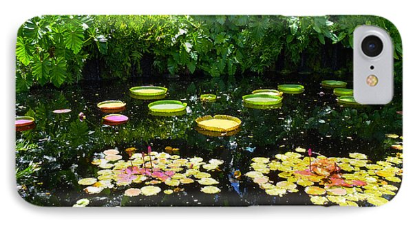 Lilly Garden IPhone Case by Carey Chen