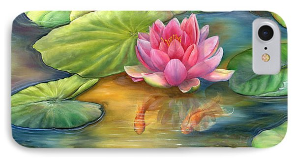 Lilly Pond Phone Case by Kathy Brecheisen