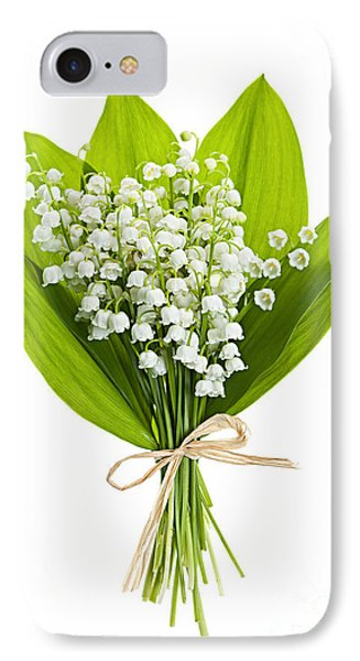 Lily-of-the-valley Bouquet IPhone Case by Elena Elisseeva