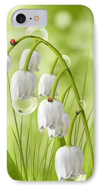 Lily Of The Valley IPhone Case by Veronica Minozzi