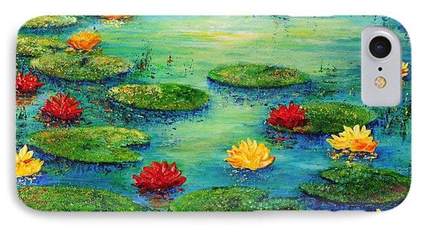 Lily Pond Phone Case by Teresa Wegrzyn