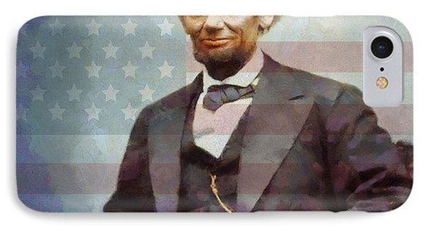 Lincoln IPhone Case by Dan Sproul