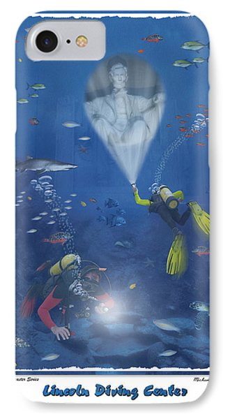 Lincoln Diving Center IPhone Case by Mike McGlothlen
