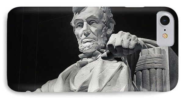Lincoln IPhone 7 Case by Joan Carroll