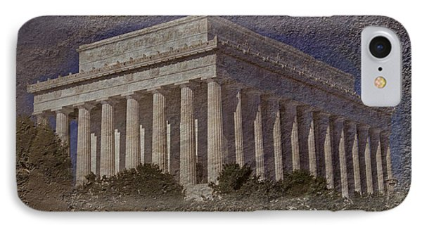 Lincoln Memorial IPhone 7 Case by Skip Willits